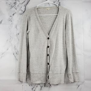 J. Crew Button Front Cardigan Sweater